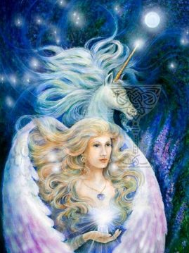 Angel-and-the-Unicorn by Pamela Matthews
