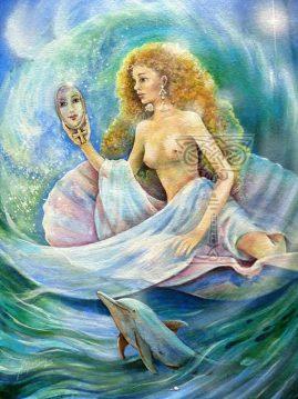 Aphrodite by Pamela Matthews: Visionary Art