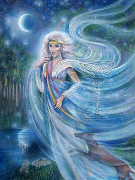 Artemis by Pamela Matthews: Visionary Art