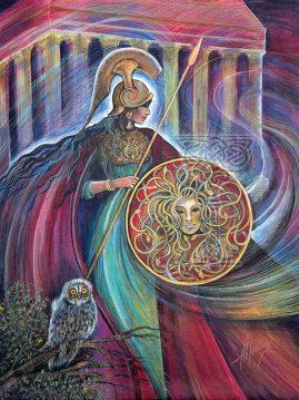 Athena by Pamela Matthews: Visionary Art