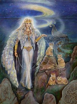 Freya by Pamela Matthews: Visionary Art