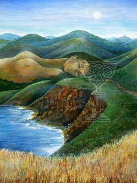 Gaia by Pamela Matthews: Visionary Art