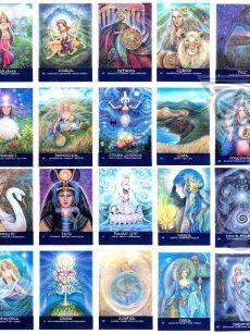 Goddesses-of-the-NEW-LIGHT by Pamela Matthews: Visionary Art
