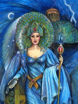 Hera by Pamela Matthews: Visionary Art