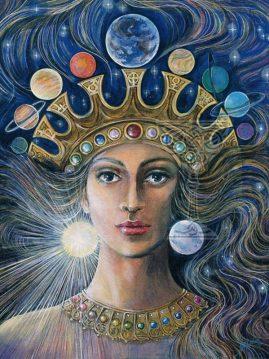 Ishtar by Pamela Matthews: Visionary Art