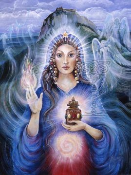 Mary Magdalene by Pamela Matthews: Visionary Art