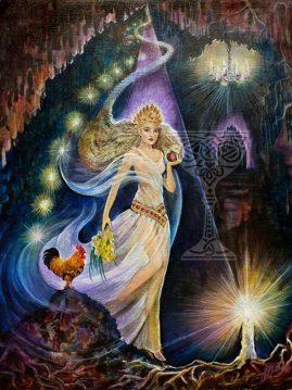 Persephone by Pamela Matthews: Visionary Art