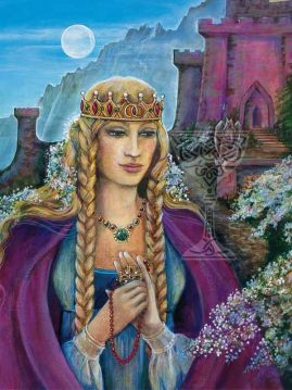 Queen-Guinivere by Pamela Matthews
