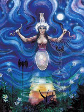 The Snake Goddess by Pamela Matthews
