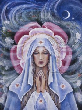Virgin Mary by Pamela Matthews