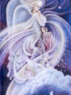 Angel-of-the-Innocents poster: Pamela Matthews: Grail Graphics - Visionary Surrealism, Spiritual Art, Symbolism, Archetypes