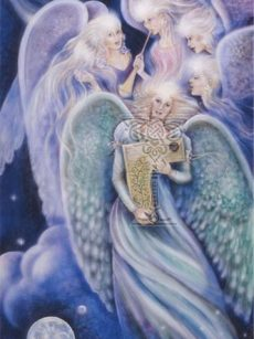 Angels-of-Harmony poster: Pamela Matthews: Grail Graphics - Visionary Surrealism, Spiritual Art, Symbolism, Archetypes