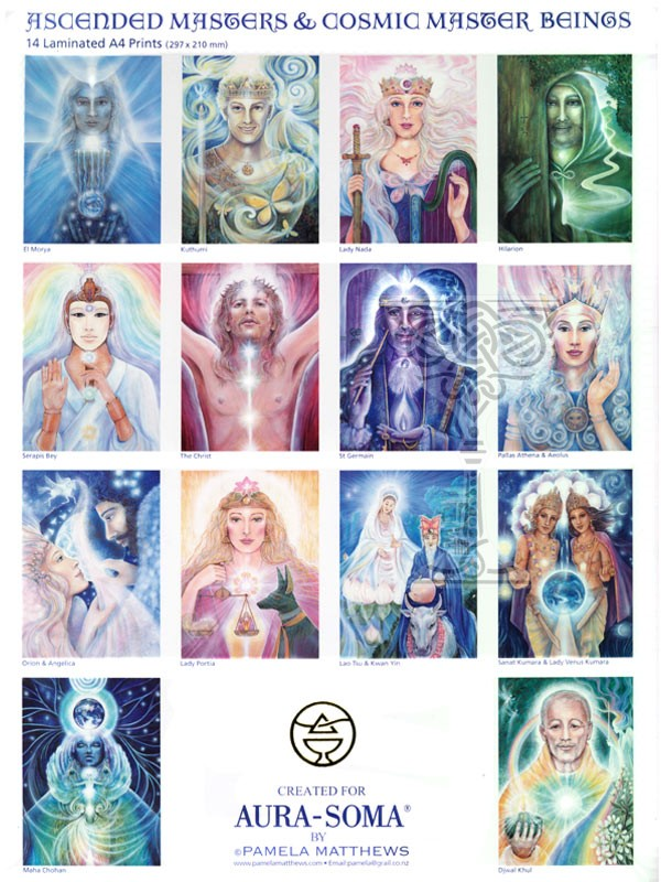 Ascended Masters Prints