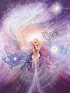 Ecstasy Poster: Pamela Matthews: Grail Graphics - Visionary Surrealism, Spiritual Art, Symbolism, Archetypes