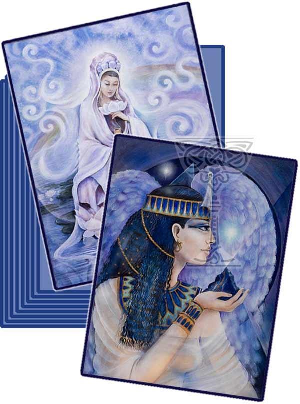 Goddess card collection: Pamela Matthews: Grail Graphics - Visionary Surrealism, Spiritual Art, Symbolism, Archetypes
