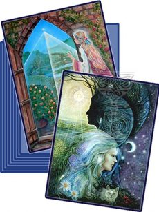 Grail-card-collection: Pamela Matthews: Grail Graphics - Visionary Surrealism, Spiritual Art, Symbolism, Archetypes
