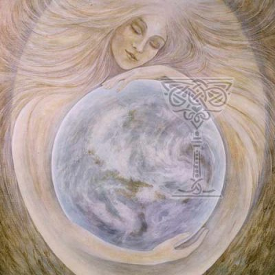 Sophia - Peace-through-Wisdom by Pamela Matthews: Visionary Art