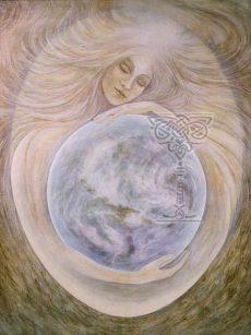 Sophia Peace-through-Wisdom: Pamela Matthews: Grail Graphics - Visionary Surrealism, Spiritual Art, Symbolism, Archetypes