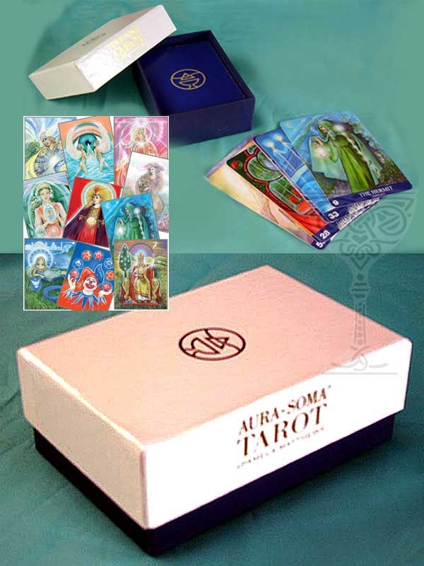 Aura Soma New Aeon Tarot Deck Grail Graphics Pamela