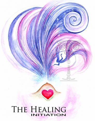 Healing Inititation by Pamela Matthews: Visionary Art