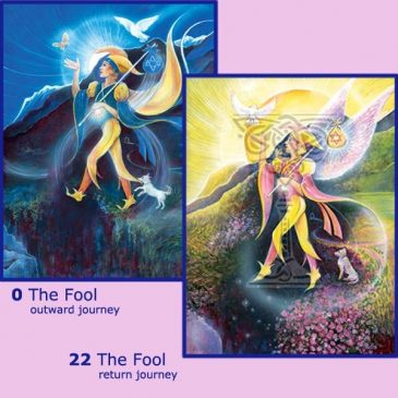 Tarot return journey: Pamela Matthews: Grail Graphics - Visionary Surrealism, Spiritual Art, Symbolism, Archetypes