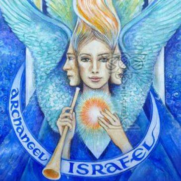 Archangel Israfel by Pamela Matthews