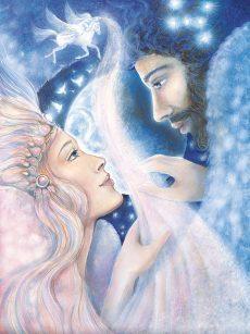 Pamela Matthews - Grail Graphics - Orion and Angelica