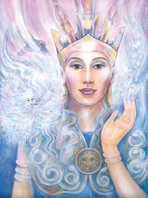 Pamela Matthews - Grail Graphics - Pallas Athena and Aeolus