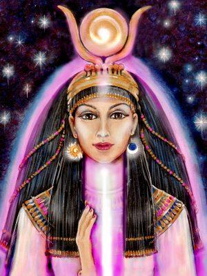 Pamela Matthews - Grail Graphics - Hathor