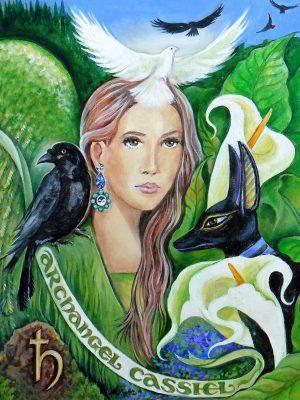 Pamela Mathews - Grail Graphics - Cassiel