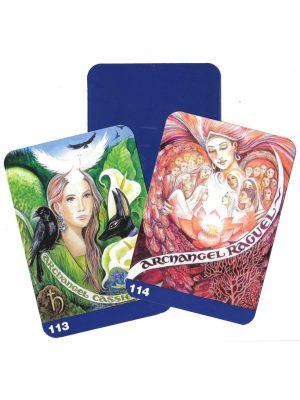 Pamela Matthews - Grail Graphics - Cassiel and Raguel cards