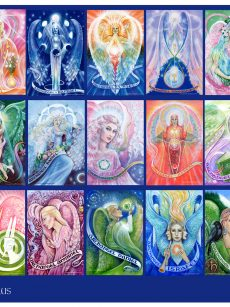 Pamela Matthews - Grail Graphics - Archangel Poster