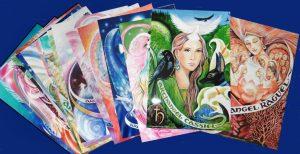 Pamela Matthews - Grail Graphics - set of prints