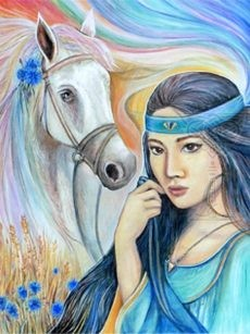 The Horse chinese animal