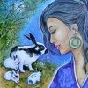 Rabbit, flirty, daring, sexual